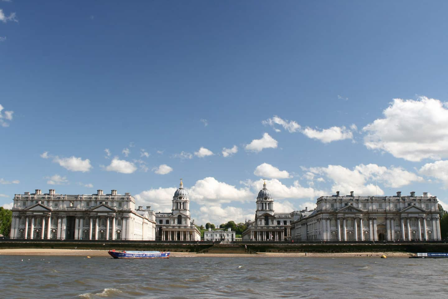 Old Royal Naval College, Royal Borough of Greenwich   Viscount Cruises