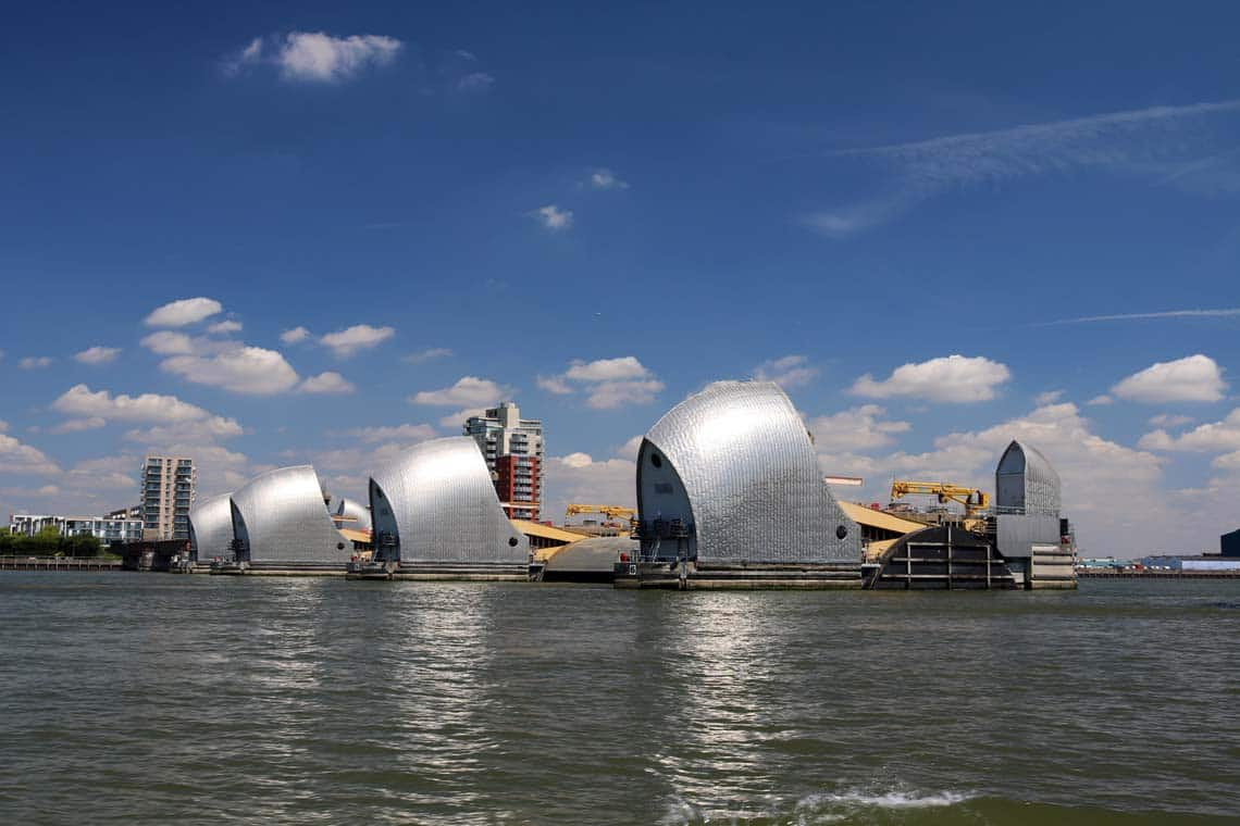 Thames Flood Barrier, Woolwich   Viscount Cruises