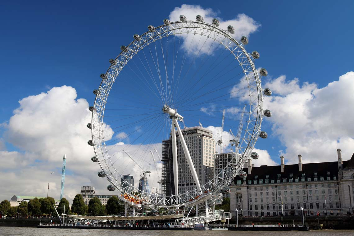 London Eye, Waterloo